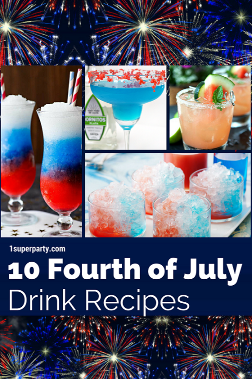 10 Delicious 4th of July Drink Recipes